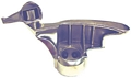 TC183429 Stainless Steel Mount/Demount Head With Round Hole For Coats Tire Changers