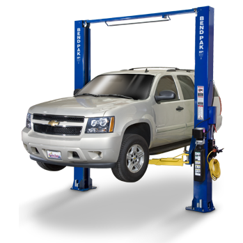 Bend Pak XPR-10C-Two-Post-Lift BendPak Car Lifts Clearfloor Versatility