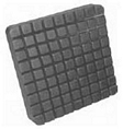 LP608 Molded Rubber Pad For Bend Pak Square (Slip On)