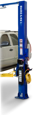 BendPak wo-post-car-lift-single-piece-columns