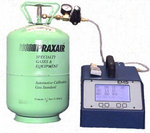 5002 EMS Gas Analyzer with Tank