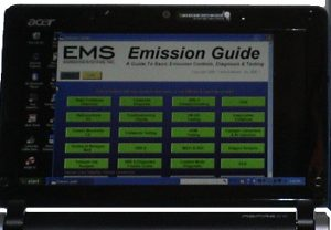 EMS Emissions Guide Software